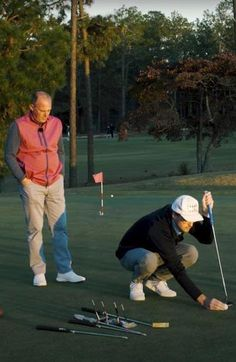 Hitting It Solid together with Golf.com share some great putting tips to hole more short putts. Golf Books, Golf Academy, Golf Score, Golf Putting Tips, Golf Magazine, Golf Chipping, Best Golf Courses, Golf Instruction, Golf Exercises