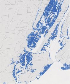 Map of Flooding Caused by Superstorm Sandy