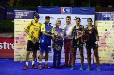 Foto de los campeones del world padel tour de Marbella 2014