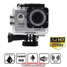 Campark W9 WiFi 12MP 1080P 2.0Inch Waterproof Sport DV Camera Silver