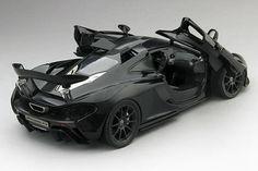 McLaren P1 Amethyst Black | 1:18 Scale Diecast Model Car by TSM | Model Citizen Diecast
