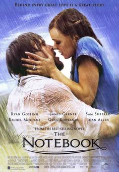 The Notebook - Ok, I've read Nicholas Sparks, and yes he is drippy in most of his novels, and yes usually someone is dying. This movie, however, always gets me in the end. Tissue please.