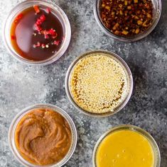 7 Easy Stir Fry Sauce Recipes (+ video) SEVEN easy stir fry sauce recipes you can make ahead and freeze. These stir fry sauces are unique, made with simple pantry ingredients, and are ready in just five minutes! Lunch Meal Prep, Meal Prep Bowls, Chicken Marinade Recipes, Sauce Recipes, Easy Stir Fry, Stir Fry Sauce, Hoisin Sauce, Soy Sauce, Sweet Chili