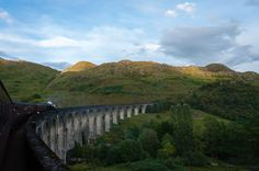 Over the Glenfinnan Bridge - null