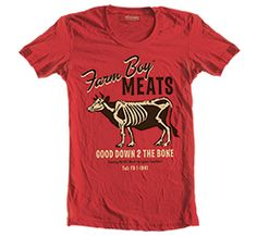 15 percent off brand names at www.ffa.org/shop!     Farm Boy® Meats Tee -- National FFA Organization Online Store