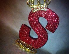 Sparkle letters with crown. Royal themed decoration for party decorations, photo props, baby showers, table numbers, princess and prince - S alphabet - Design Alphabet, S Alphabet, Alphabet Stencils, Alphabet Wallpaper, Name Wallpaper, Emoji Wallpaper, Diy Letters, Flower Letters, Letters And Numbers
