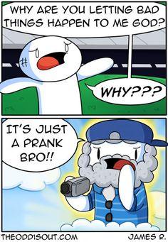 Just a prank...