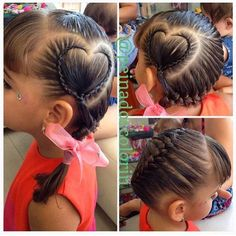 Seguimos con el especial #sanvalentin #hermosos #peinados y #trenzas en #colorin #cucuta #corazon #braid #trenza #braids #tresses #treccia ##tresses #hair