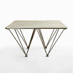 Marble Top Coffee Table  | dotandbo.com