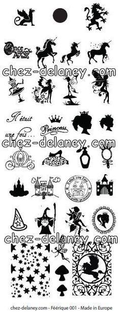 Image plate DELANEY - Féérique 001 - Chez Delaney