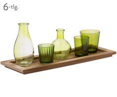 Windlichter- & Vasen-Set Momo, 6-tlg. Jetzt bestellen unter: https://moebel.ladendirekt.de/dekoration/kerzen-und-kerzenstaender/windlichter/?uid=492f4781-762c-5d30-9f59-0af4860f7a95&utm_source=pinterest&utm_medium=pin&utm_campaign=boards #kerzen #kerzenstaender #windlichter #vasen #dekoration