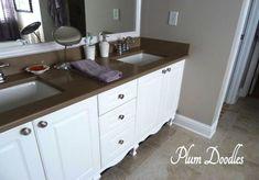 Make a Bathroom Vanity look like Furniture