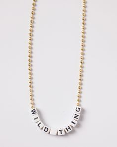 Little Lux Wild Thing Necklace