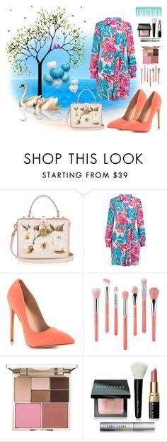 """#love"" by edin-levic ❤ liked on Polyvore featuring Dolce&Gabbana, Diane Von Furstenberg, Liliana, Bdellium Tools, Stila and Bobbi Brown Cosmetics"