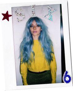 Blue hair. Bleach