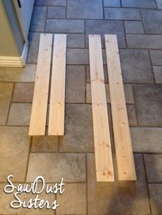 DIY Stick-On Mirror Frame - Sawdust Sisters