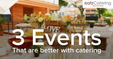 3 Events That Are Better with Catering - Read here: http://eatzcatering.com/blog/3-events-that-are-better-with-catering/. For a halal certified food caterer in Singapore go here:http://eatzcatering.com #eatzcatering