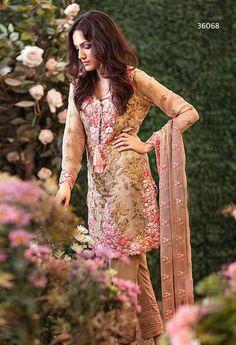 Beige Georgette Designer Salwar Kameez..@ fashionsbyindia.com #salwar #india