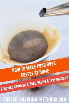 Learn how to make pour over coffee, how to tweak your drip coffee to perfection, and why manual drip brewing is great. We also recommend a few drip cones. Pour Over Coffee, Drip Coffee, Coffee Brewing Methods, Coffee Dripper, How To Make Coffee, Recipe Instructions, Instant Coffee, Turkish Coffee, Great Coffee