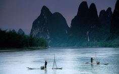 The Li River or Li Jiang (Chinese: 漓江, pinyin: Lí Jiāng) is a river in Guangxi Province, China. (Also see the Li River disambiguation page.) The Li River originates in the Mao'er Mo Guilin, Lijiang, Countries Of Asia, Visit China, Chinese Landscape, Natural Scenery, Worldwide Travel, China Travel, Travel Goals