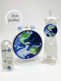 Η ΩΡΑ ΤΗΣ ΓΗΣ Κωδικός προϊόντος: A18-069  Βαπτιστικό κουτί ρολόι 149€ Λαμπάδα βάπτισης 75€ Λαδοσέτ 50€  #elenamanakou #newcollection #2018 #handpainted #handmade #vaptisi #baptism #christening #woodenbox #box #candle #madeingreece #baby #boy #babyboy #godmother #godfather #special #earth #clock #costummade #personalizedbaptism #γη #ηώρατηςγης #βάπτιση #κουτί #κουτίβάπτισης #λαμπάδα #νονός #νονά #χειροποίητες_δημιουργίες