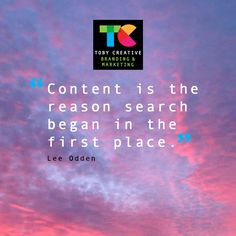 """""""Content is the reason search began in the first place"""" - Lee Odden  Toby Creative - Branding & Marketing, is a Perth Google Partner and Google Adwords certified company, that specialises in Search Engine Optimisation as well as the creation and optimisation of content in online marketing for local Perth businesses.  Our experienced head of marketing has over twenty years SEO experience locally, nationally and internationally."""