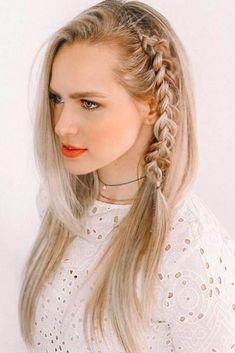 Cool Side Styling Braid Dutch #braid #blondehair #dutchbraid ❤️ Our modern world changes its trends more and more by the minute, so there's no way you've tried everything. We will show you the latest ideas on how to style your long hair so that you will fall back in love with it. Let's go! ❤️ See more: http://lovehairstyles.com/hairdos-for-long-hair/ #lovehairstyles #hair #hairstyles #haircuts