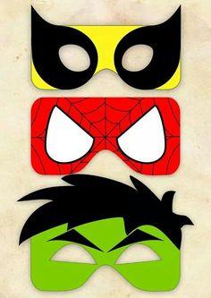 #Antifaces#superheroes