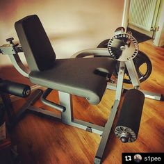 Thanks for sharing @s1pee! #BodySolid  #repost @s1pee (@get_repost)  Newest piece of kit to Portlethen Personal Training! The Body-solid leg extension/leg curl machine. While I do always prefer compound lifts for fat loss I have always wanted a leg curl m https://www.musclesaurus.com/