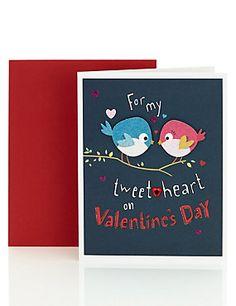 Tweetheart Valentine's Day Card