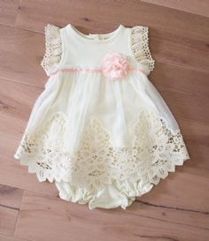Peaches 'N Cream Sweet Pea Dress w/ Panties Preorder
