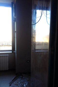 """Realizzazione toilette e decorazione in stucco veneziano color cioccolato in """"casa boutique"""""""