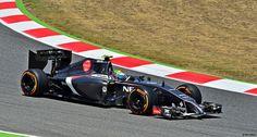 Sauber C32 / Ferrari Esteban Gutiérrez / MEX / Sauber F1 Team