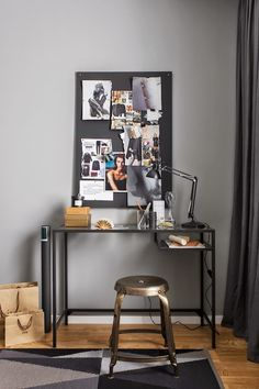 vosgesparis is an interior design blog with a focus on scandinavian design and ideas on decorating with minimal colour & maximum style. Home Office, Office Decor, Ikea Vittsjo, Minimalist Decor, My New Room, Office Interiors, Apartment Living, Scandinavian Design, Interior Design