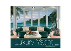 """Luxury Yacht"" by thewondersoffashion ❤ liked on Polyvore featuring interior, interiors, interior design, home, home decor, interior decorating, Trilogy, Brabbu, Kim Salmela and Lili Alessandra"