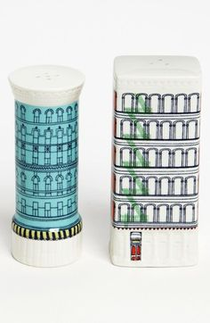 Buildings Salt & Pepper Shakers