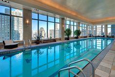 75 foot Lap Pool at Mandarin Oriental New York