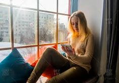 Image result for woman sitting in window seat Windows, Woman, Image, Window, Ramen, Women