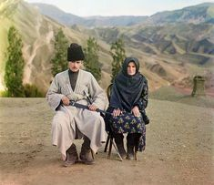 Dagestani types, by Sergey Mikhaylovich Prokudin-Gorsky , between 1905 and 1915