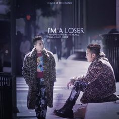 """I have never fit in this world I was always alone."" {Loser - BIGBANG} des by Aqua@Kitesvn.com"