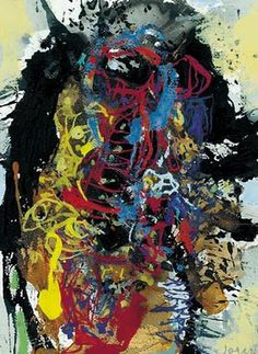 Asger Jorn when he unfolds his expression. We like!