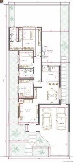 Preview plano de casa completo con medidas 55 m2 1 piso 2 for Tasas de bano modernas