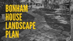 Bonham House Landscape Plan Texas Landscaping, House Landscape, Ravenna, How To Plan, World, City, Facebook, Cities, Peace