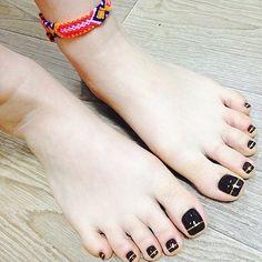 Cute Toe Nails, Sexy Nails, Cute Toes, Sexy Toes, Pretty Toes, Beautiful Nail Polish, Beautiful Toes, Toe Nail Designs, Nail Polish Designs
