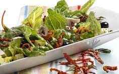 Salat meinen gebratenen Tomaten