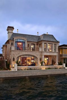 French Style Home/House Exterior