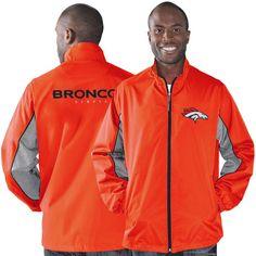 Denver Broncos G-III Sports by Carl Banks Slam Dunk Full Zip Jacket - Orange - $74.99