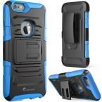 Prime Series 4.7 in. Holster Case for Apple iPhone 6/6S, Blue