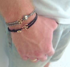 Mens jewelry . Mens bracelet . Men cuff bracelet . Mens by LirLir