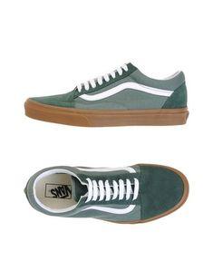 614f1dbdf0 VANS Men s Low-tops  amp  sneakers Military green 11.5 US Green Sneakers